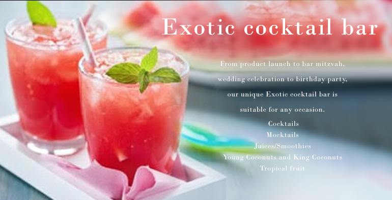 Exotic Cocktail Bar