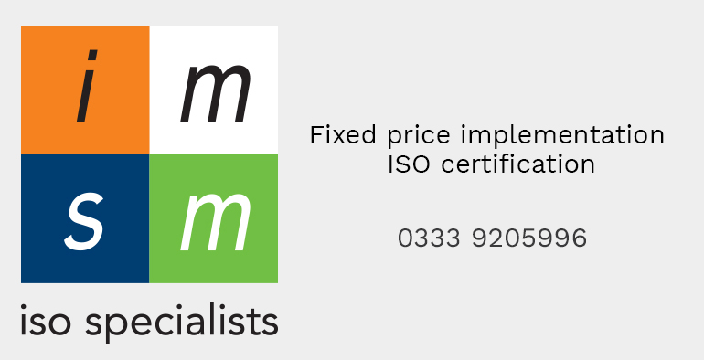 Fixed price implementation ISO certification